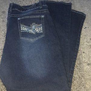 Red Rivet Jeans size 18W